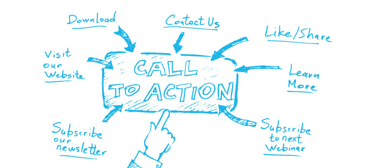 call-to-action buttons generate direct leads